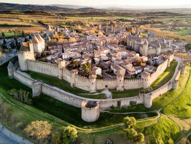 Carcassonne con niños, en Francia