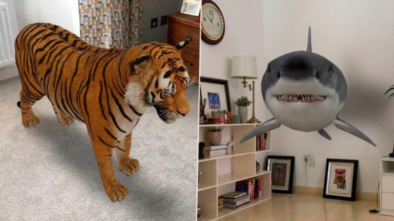 animales realidad aumentada