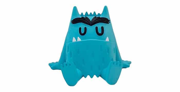 monstruo colores azul tristeza