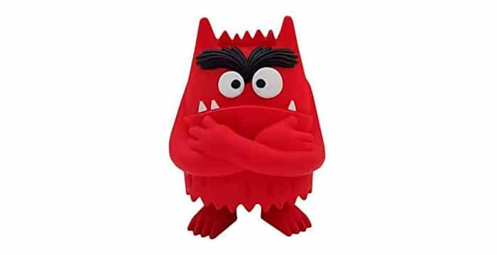 monstruo colores rojo enfado