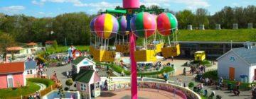 Descubre el parque temático de Peppa Pig