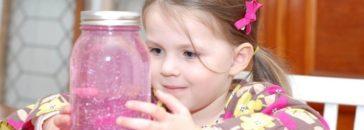 El frasco de la calma de María Montessori para padres y niños